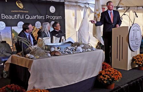 Block Island Quarter launch David Ryder