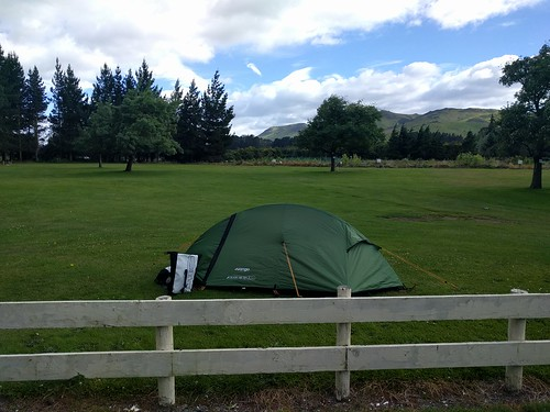 Camping in Lumsden