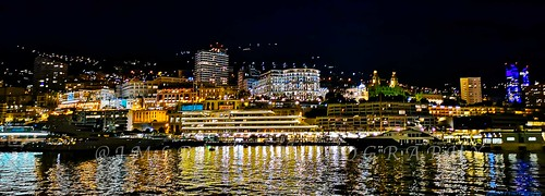 MONACO BY NIGHT- Côte d'Azur France - IMG_20190117_193216