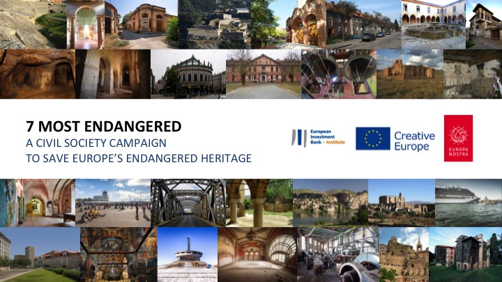 7 Most Endangered Presentation at Fair of European Innovators in Cultural Heritage