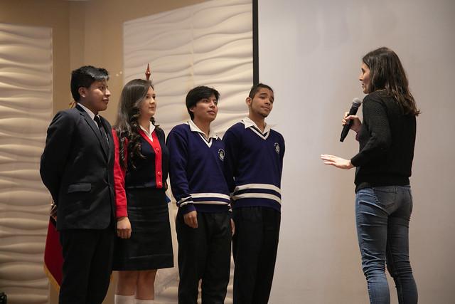 Jóvenes transformando el mundo, tercera edición - Quito