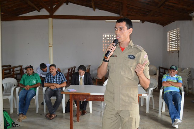 Evento promovido pelo Sindicato dos Trabalhadores Rurais de Aurora discutiu prevenção de incêndios florestais