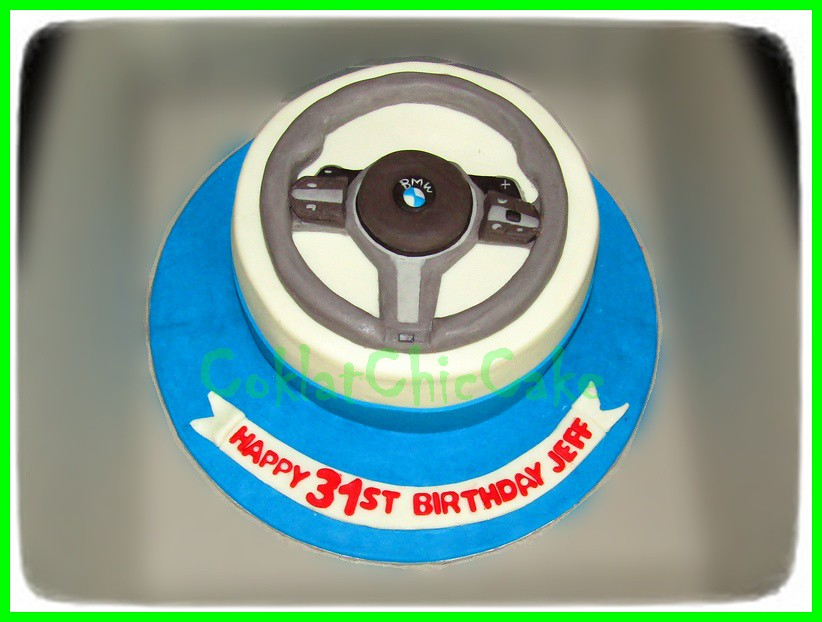 Cake BMW Steer JEFF 15 cm