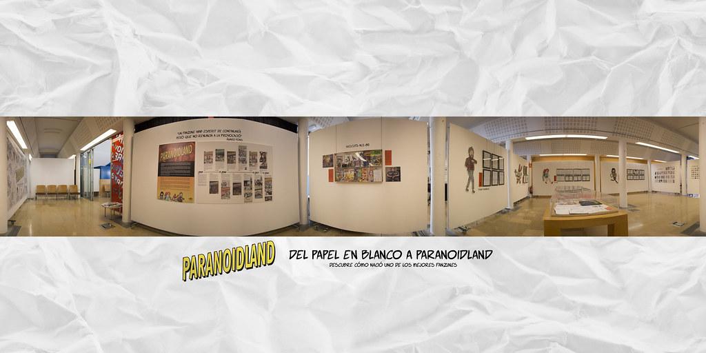 Exposición: Del papel en blanco a Paranoidland - Comienzo