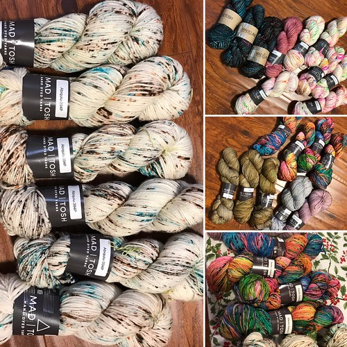 More Madelinetosh in the shop! Some more Tosh Light, DK and ASAP