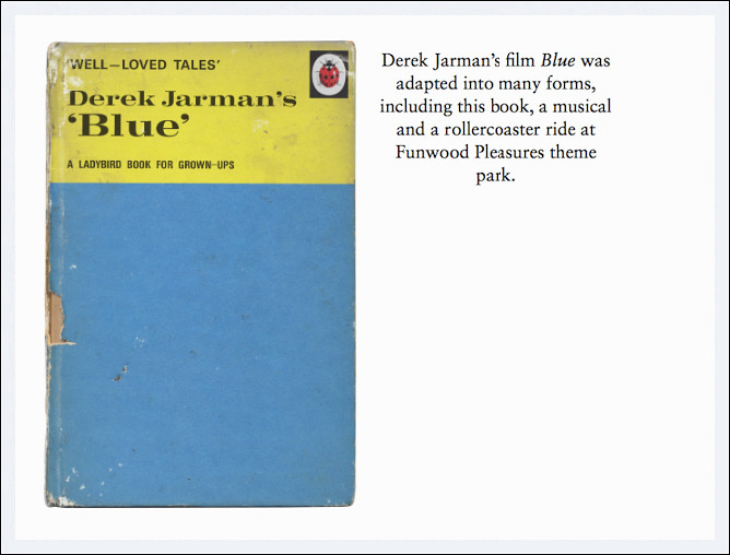 BLOG - Derek Jarman's Blue