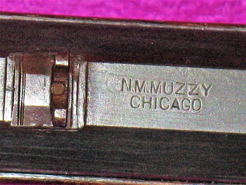 Made By N. M. Muzzy, Chicago