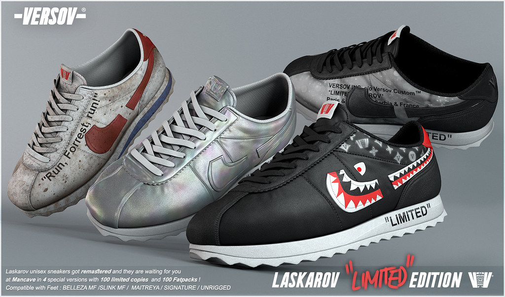 [ Versov //​ ] LASKAROV LIMITED EDITION sneakers available at ManCave - TeleportHub.com Live!