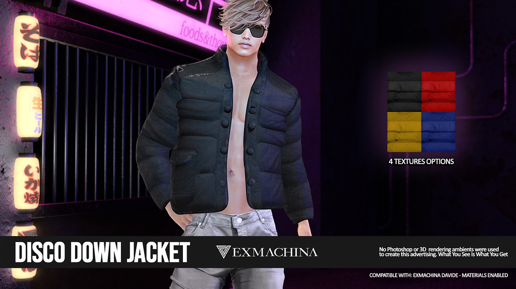 EXMACHINA DISCO DOWN JACKET