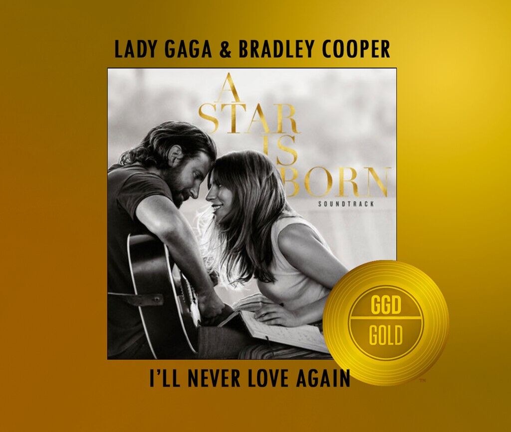 I'LL NEVER LOVE AGAIN GOLD