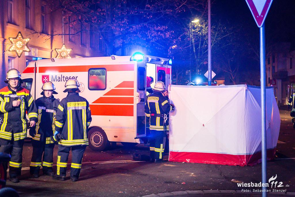 Person überfahren Mainz-Mombach 01.01.19