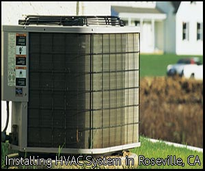 hvac installation in Roseville