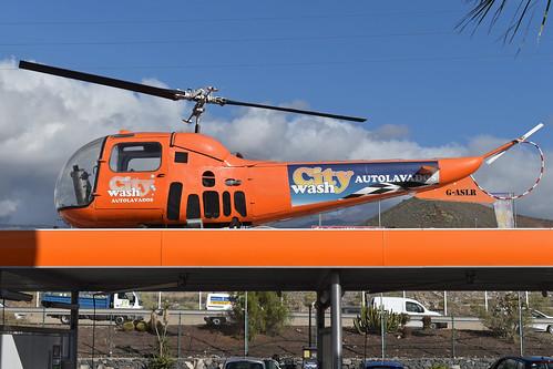Agusta Bell 47J-2 Ranger 'G-ASLR'