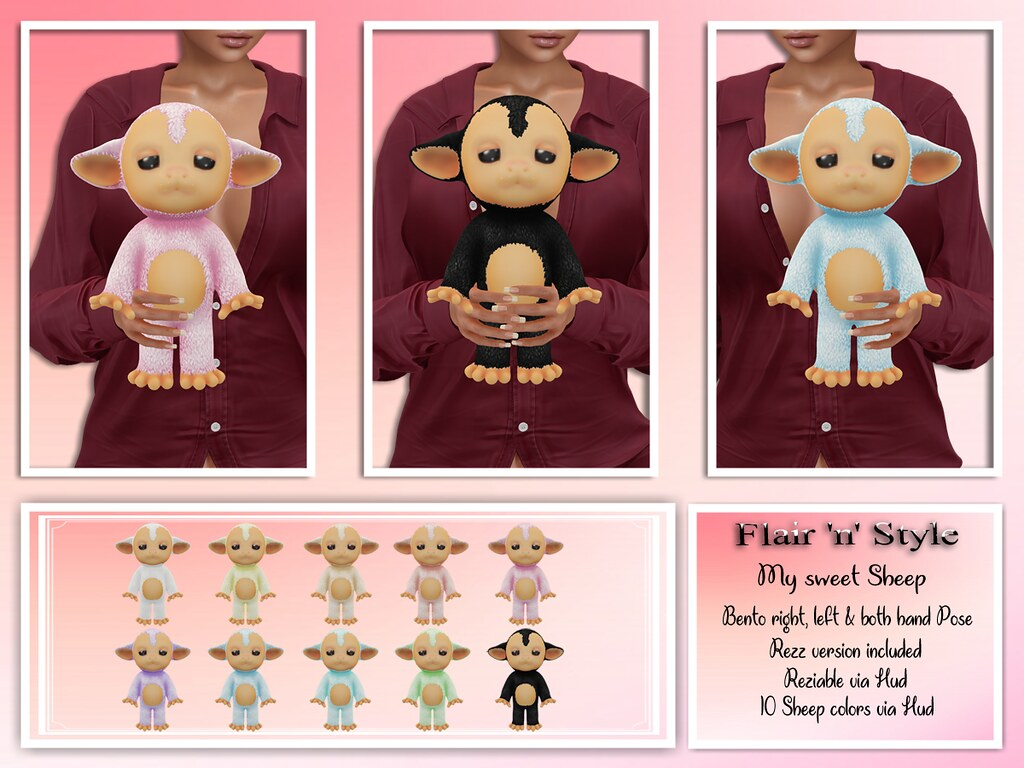 {Flair 'n' Style} My sweet Sheep