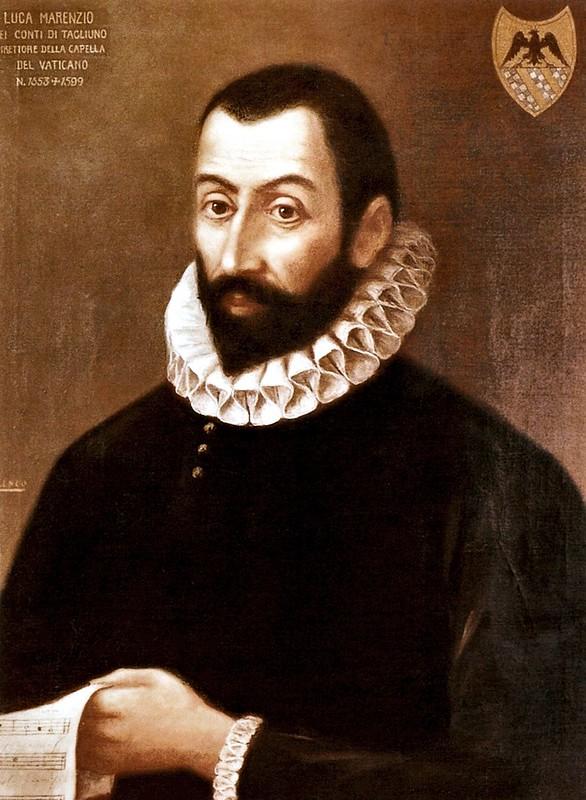 Luca Marenzio conte di Tagliuno e Talgate, Komponist des 16. Jahrhunderts (c.1560)