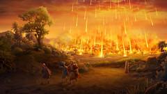 Christian Movie Clip - God's Destruction of Sodom and Gomorrah