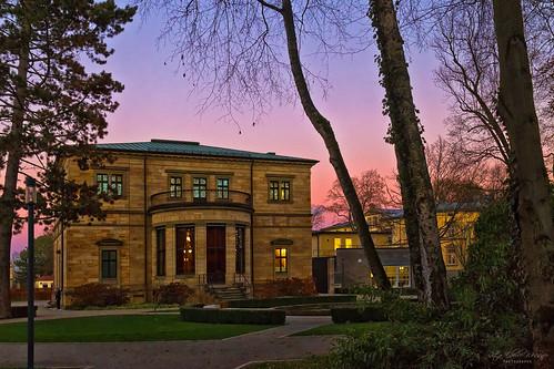 Villa Wahnfried, Bayreuth, Rückansicht
