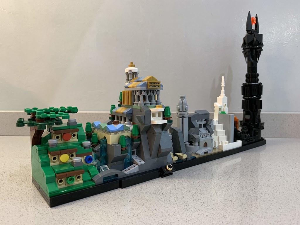 MOMAtteo79 - LEGO LOTR Skyline