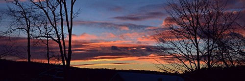 panorama sunsetpanorama sunset aftersunsetpanorama westpondsunset nature naturephoto naturephotography landscape landscapephoto landscapephotography januarysunset january maine