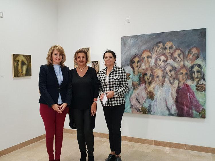 """Inaugurada la exposición """"Atrapadas"""" de la artista Mercedes Navarro Ristori"""