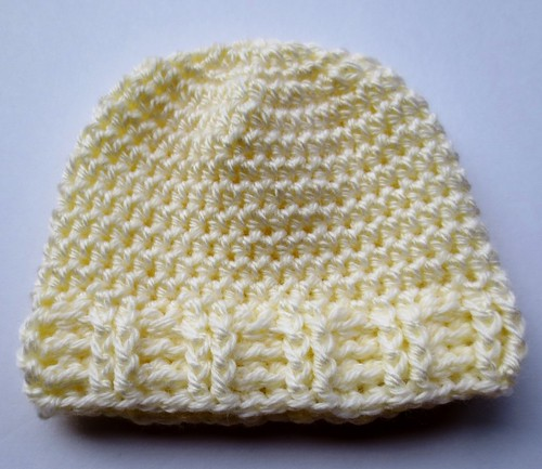 Double Post Ribbed Baby Hat