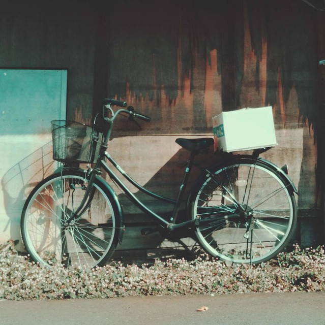 Bicycle and packing box