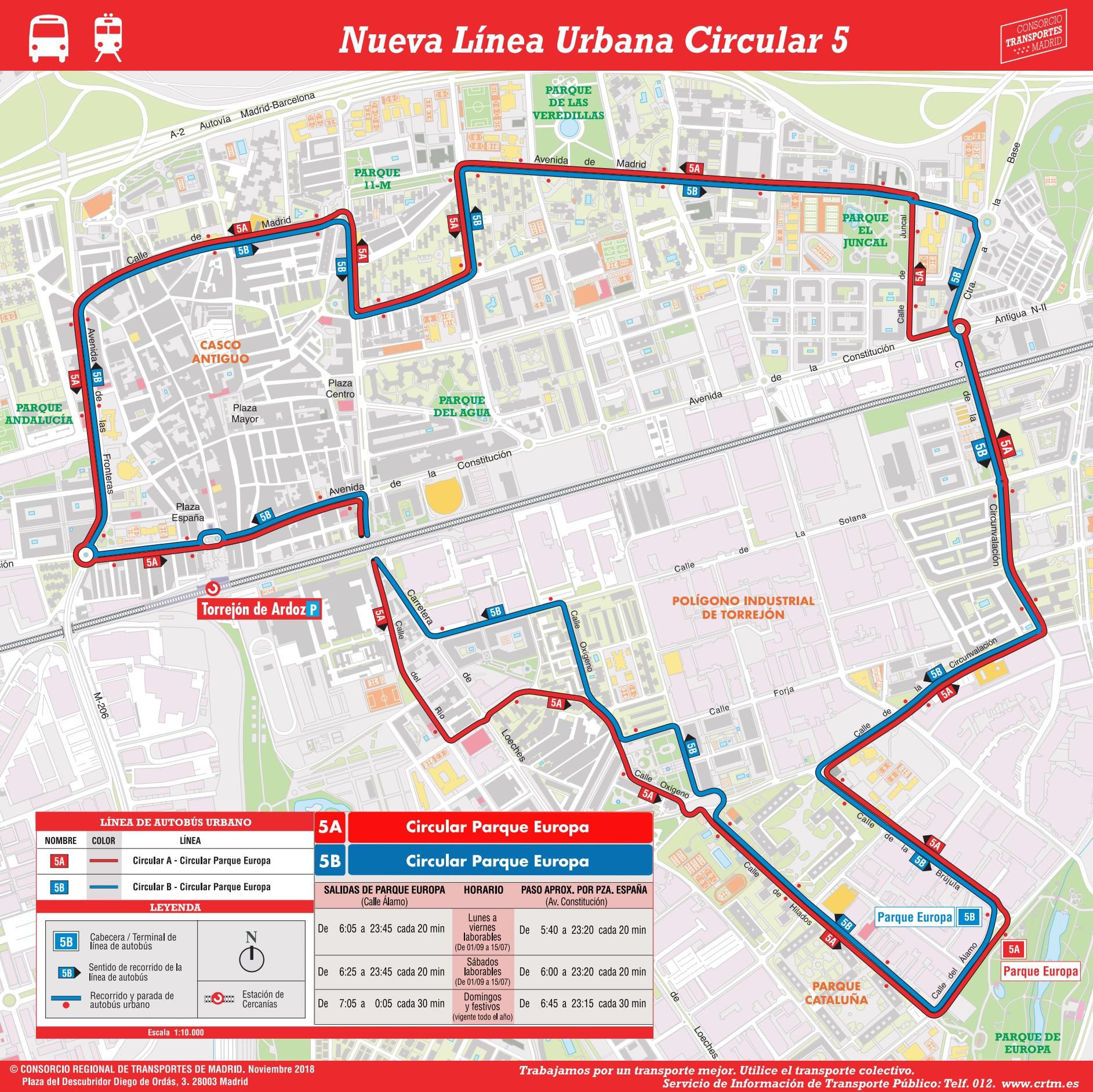 Visitamos La Nueva Red De Autobuses Urbanos De Torrejon De Ardoz