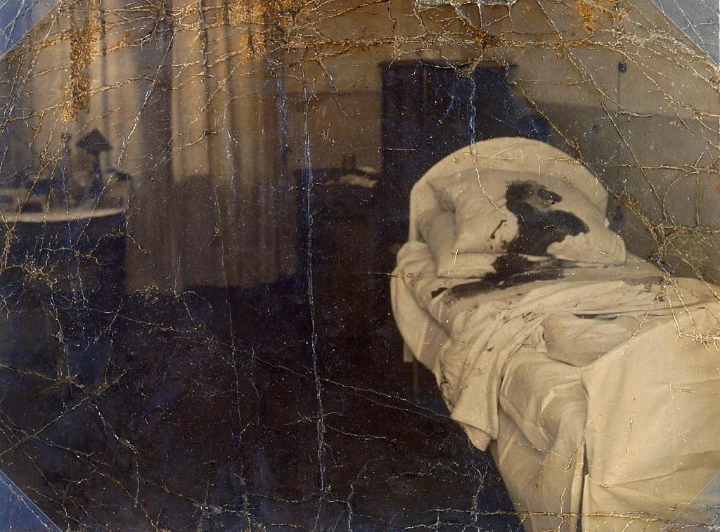 1918. Палата в Мариинской больнице, где был убит Фёдор Фёдорович Кокошкин