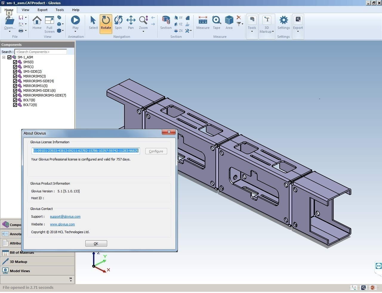 Working with Geometric Glovius Pro v5.1.0.133 full license