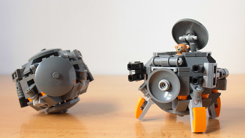 Lego Wrecking Ball from Overwatch MOC