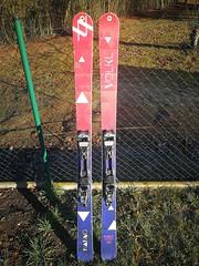 skitouringové lyže Völkl Nanuq + vázání Marker F12 - titulní fotka