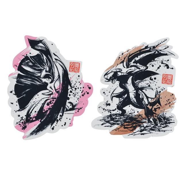 鮮明對比水墨展現魄力姿態《精靈寶可夢》X 墨繪師『御歌頭』全新週邊「墨繪列傳」01 月 19 日登場!