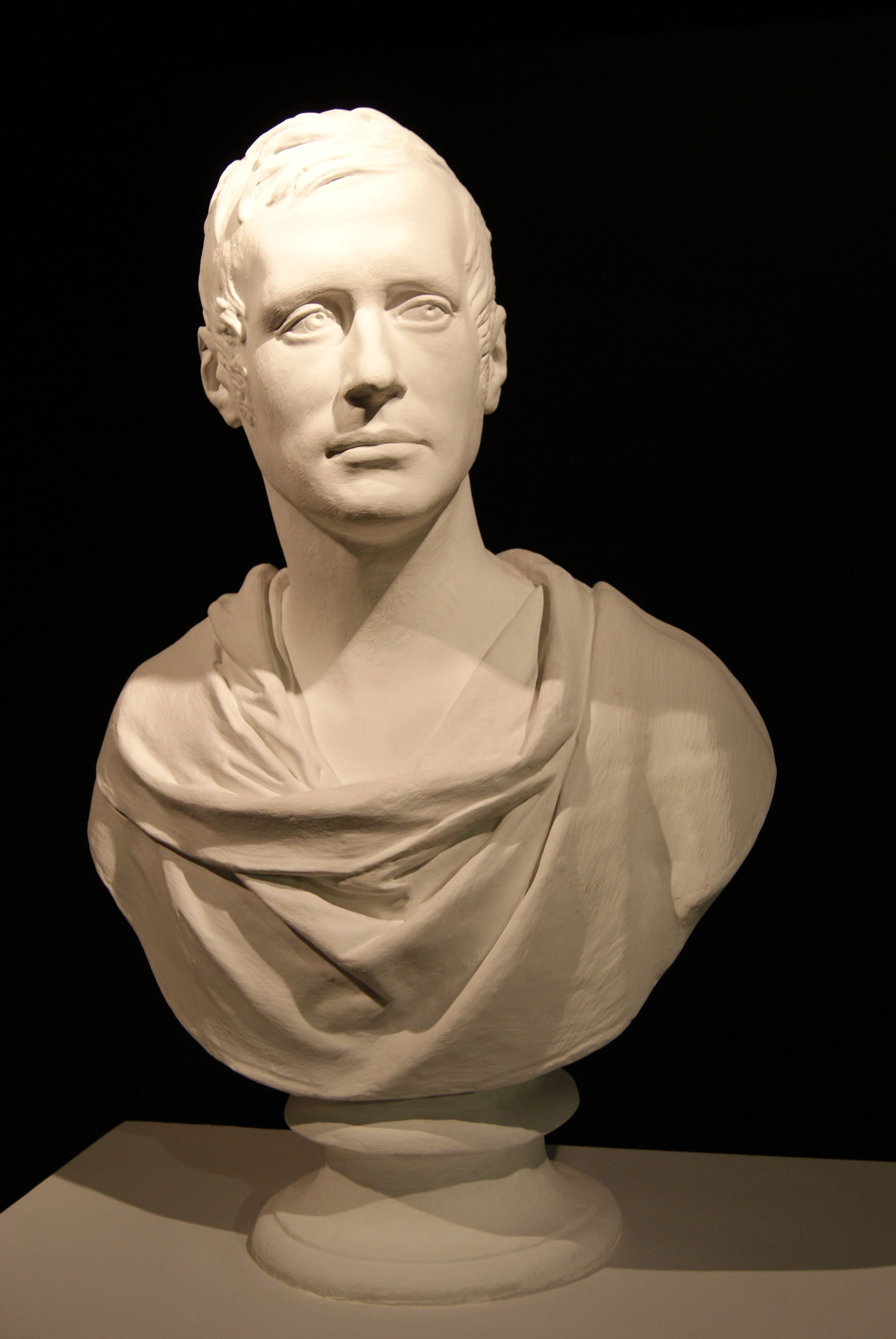 Replica of a bust of Stamford Raffles by Francis Chantrey at the National Library in Singapore.