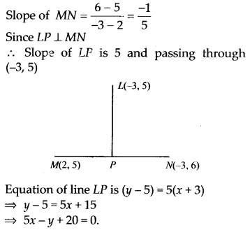 NCERT Solutions for Class 11 Maths Chapter 10 Straight Lines 26
