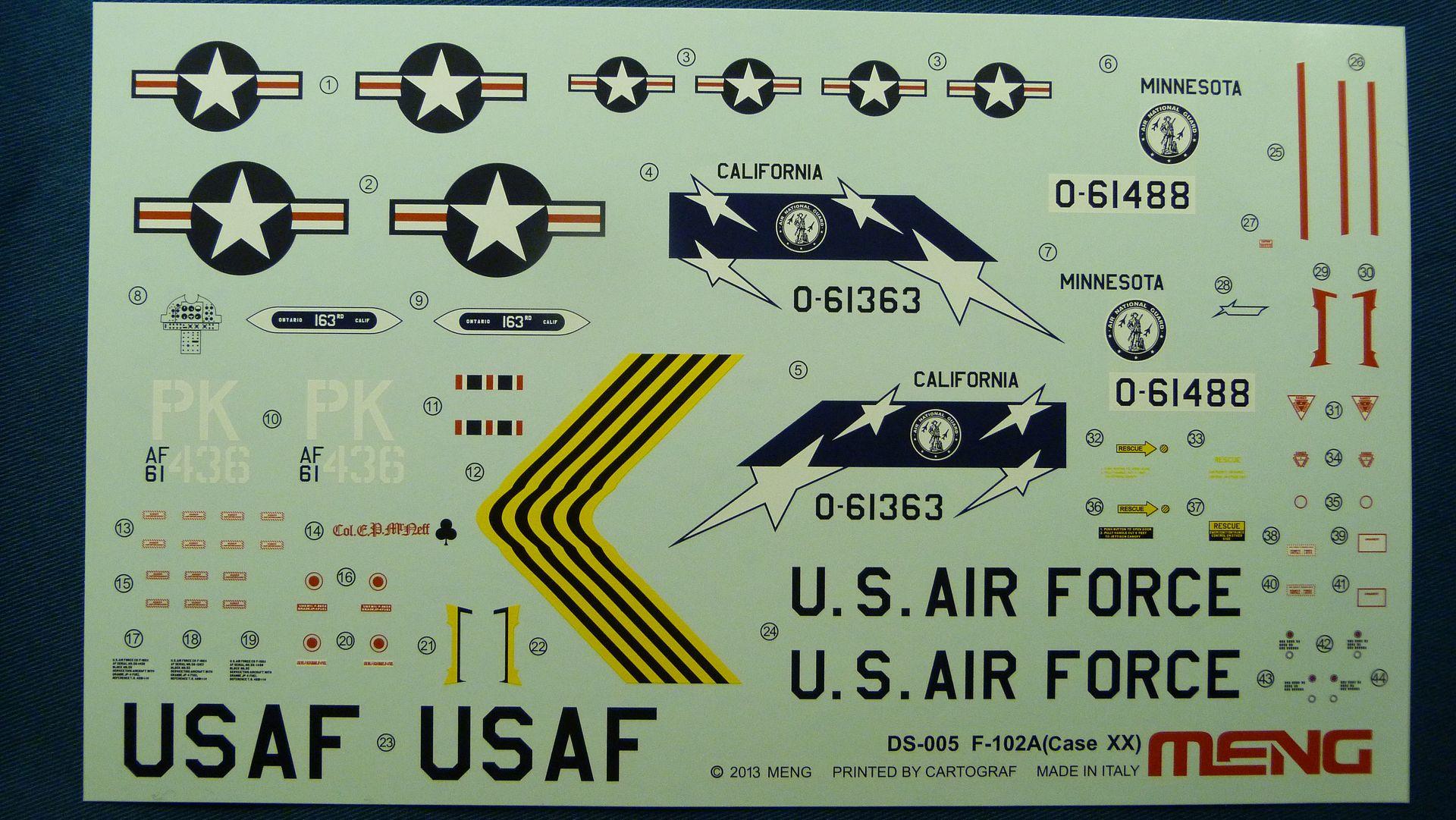 Meng Deltavingar, F-102 och F-106, 1/72 44065035870_aebc675f89_o