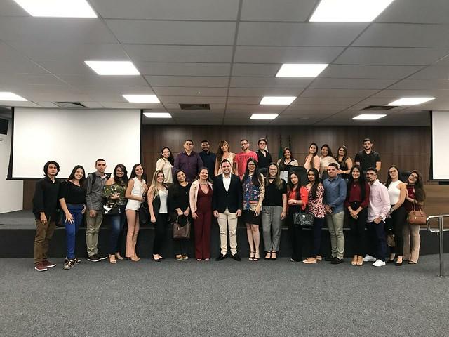 Visita dos Alunos de Sobral à Sede da ESA E OAB 09-11-2018