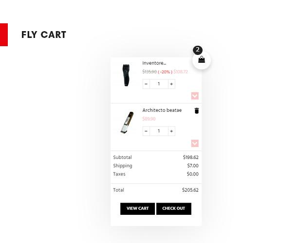 Ap trimmer for men's shaving tools, hair salon, fashion, fly cart