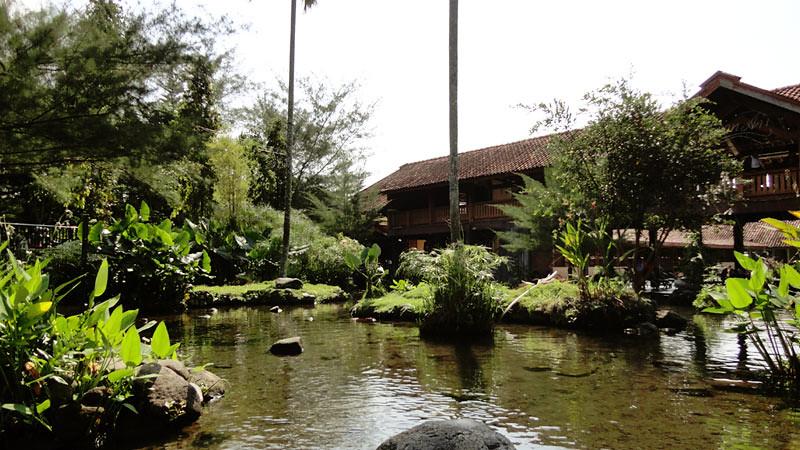 Taman Air, bagian dari Umbul Tlatar, Kabupaten Boyolali.