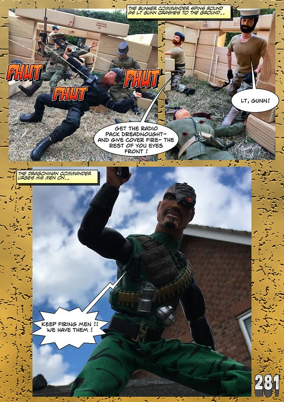 BAM2272 Presents - An Old Face Returns! Chapter Eighteen - The Munrovians Prepare their defences - Part Two 44868109425_7c03776c70_c