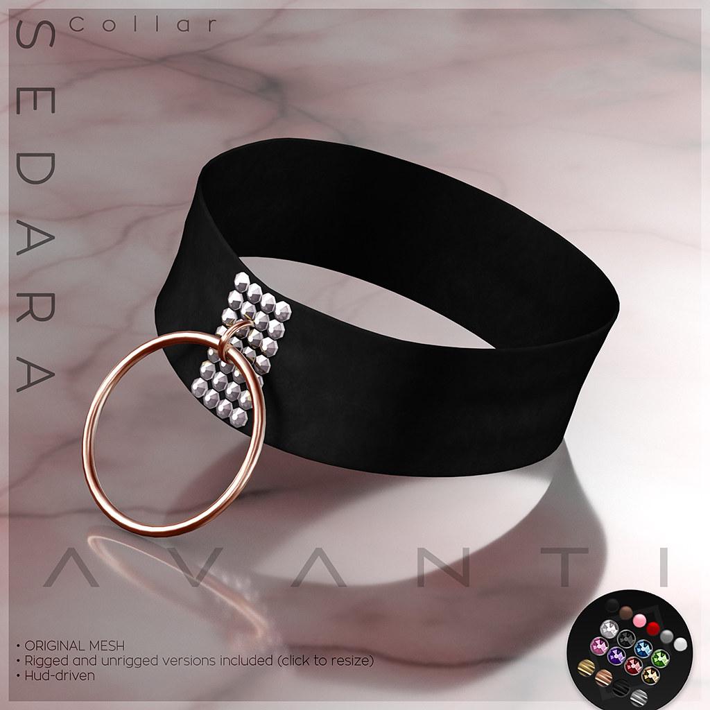 Avanti @ Tres Chic: Sedara Collar - TeleportHub.com Live!