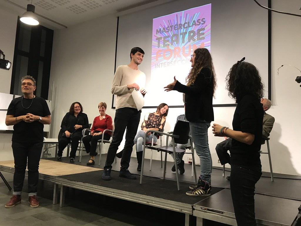 'Masterclass' sobre teatre-fòrum interseccional