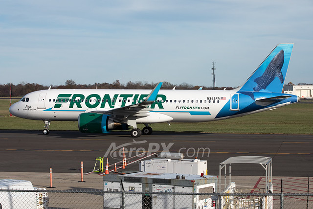 Frontier Airlines Airbus A320-251N - N342FR