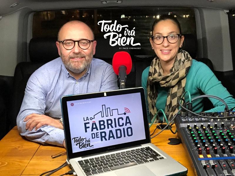 Foto 2018 11 21 Mila Martinez Paco Cremades Todo ira Bien Marketing OnLine La Fabrica de Radio