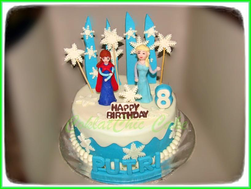 Cake Disney Frozen PUTRI 20 cm