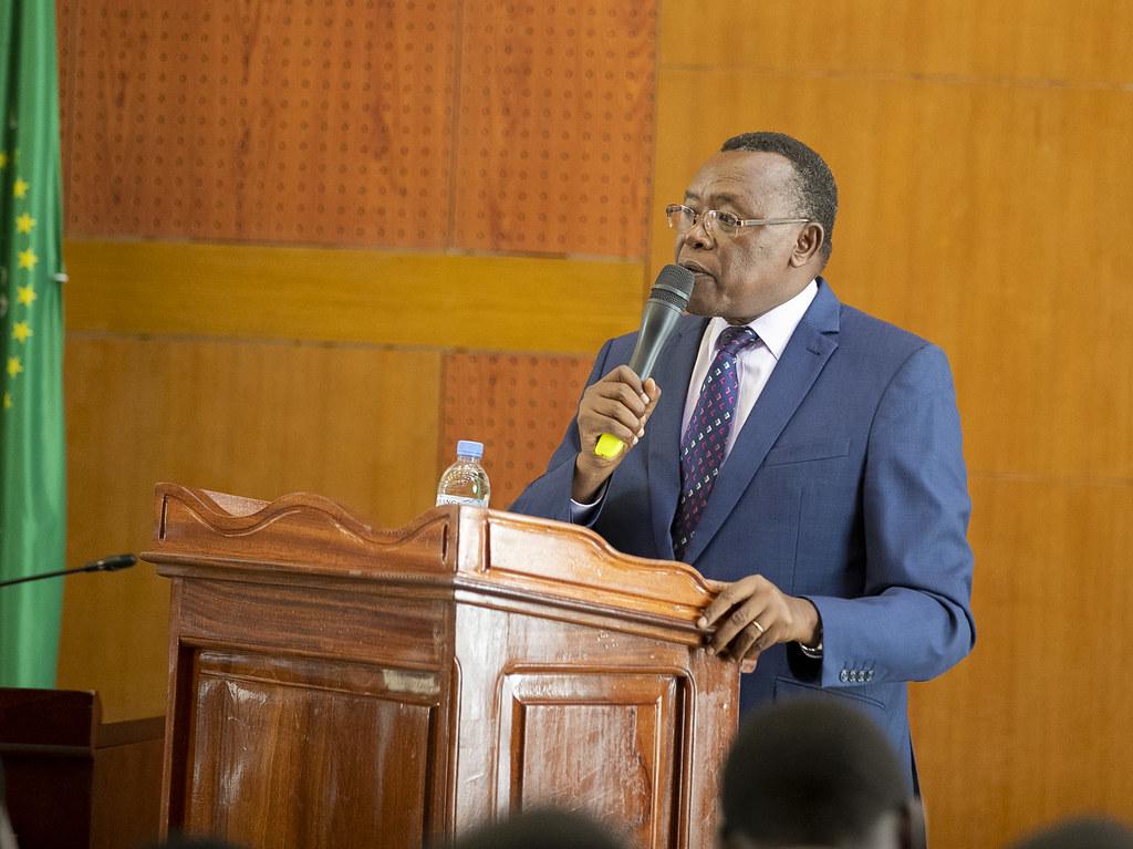 Ndi Umunyarwanda session with management and staff of Mina