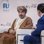 Ahmed Mohammed Salem Al-futasi during the plenary session 1 at IRU World Congress
