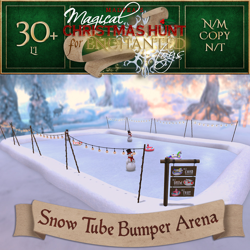 Snow Tube Bumpr Arena MadPea Christmas Hunt Final Prize!!