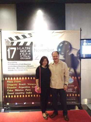 Inauguración del XVII Festival de Cine Latinoamericano en Kuala Lumpur
