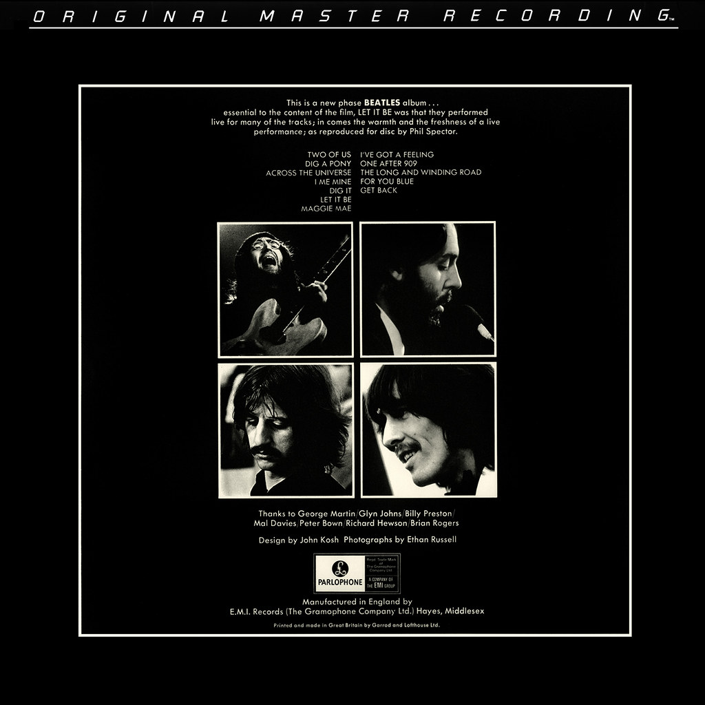 The Beatles - Let It Be - MFSL Re-Issue