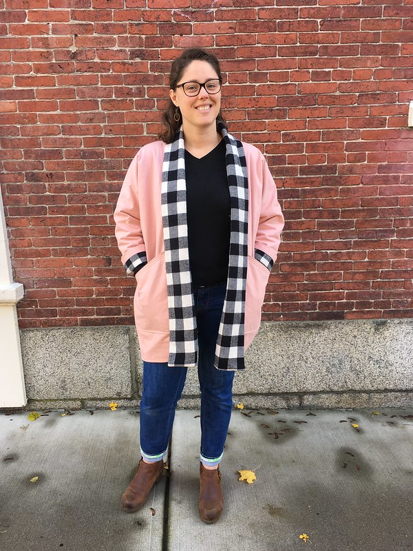 Queue Jumper:  Wiksten Kimono in Denim and Flannel